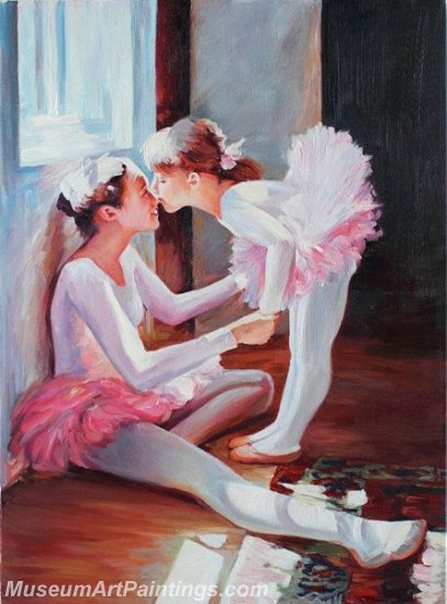 Ballet Oil Painting On Canvas MB014