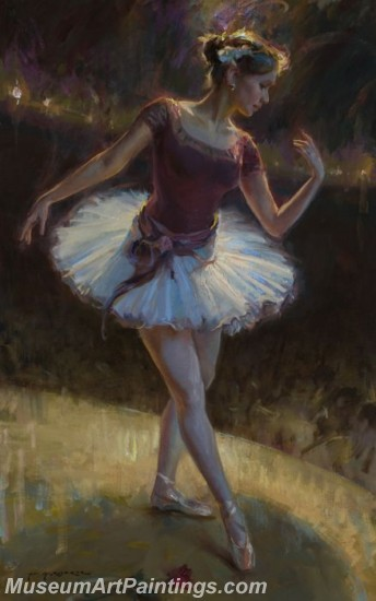 Ballet Oil Painting On Canvas MB016
