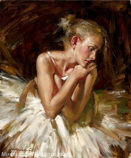 Ballet Oil Painting On Canvas MB017