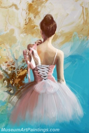 Ballet Oil Painting On Canvas MB019