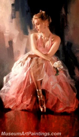 Ballet Oil Painting On Canvas MB025