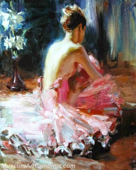 Ballet Oil Painting On Canvas MB027