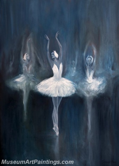 Ballet Oil Painting On Canvas MB028