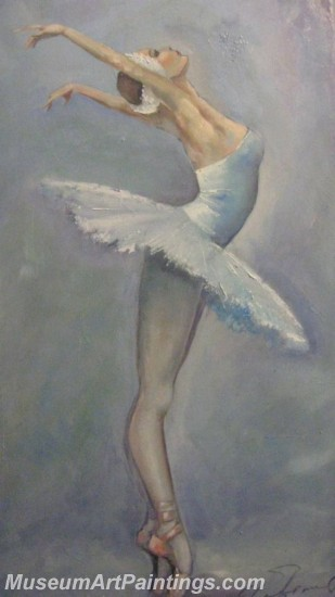 Ballet Oil Painting On Canvas MB030