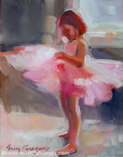 Ballet Oil Painting On Canvas MB035