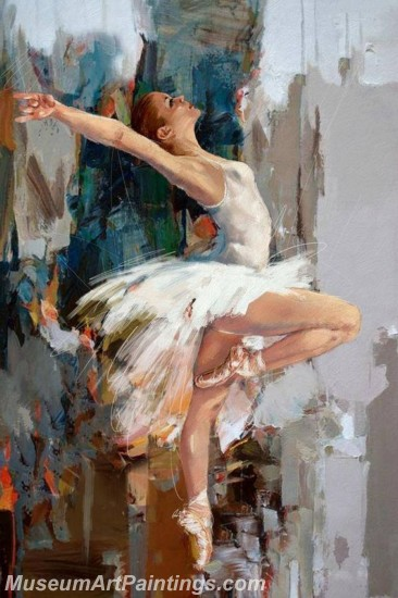 Ballet Oil Painting On Canvas MB04