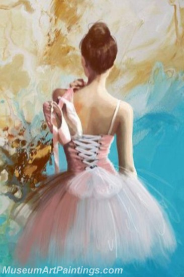 Ballet Oil Painting On Canvas MB045