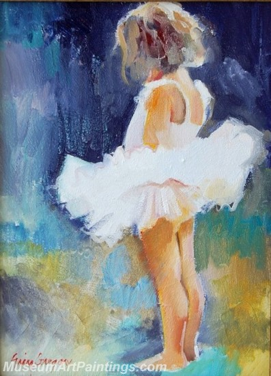 Ballet Oil Painting On Canvas MB046