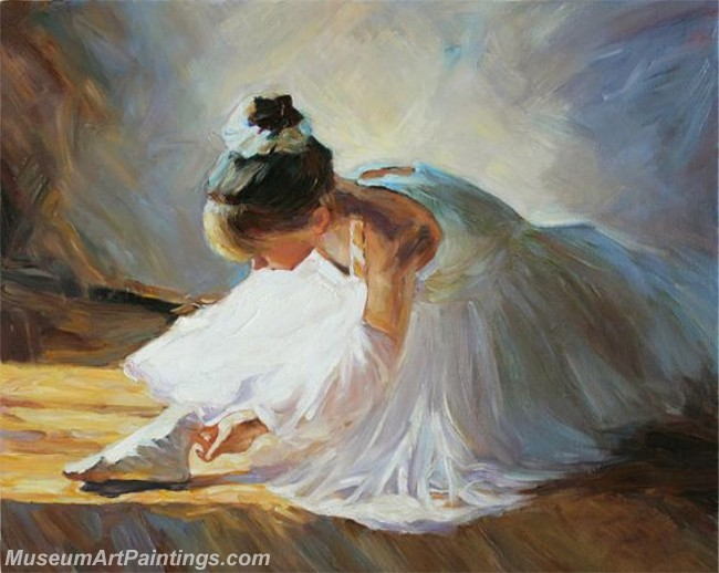 Ballet Oil Painting On Canvas MB047