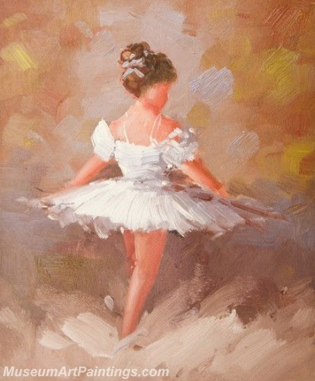 Ballet Oil Painting On Canvas MB048