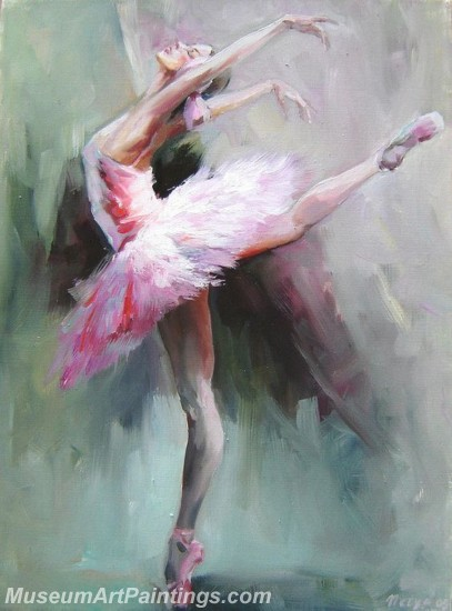 Ballet Oil Painting On Canvas MB050