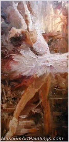 Ballet Oil Painting On Canvas MB054