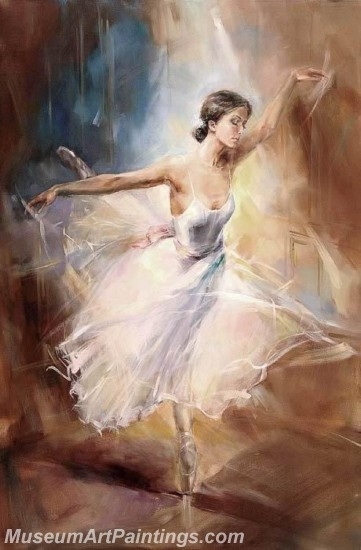 Ballet Oil Painting On Canvas MB055
