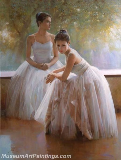 Ballet Oil Painting On Canvas MB056