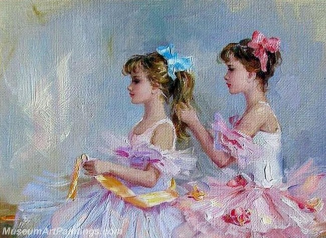 Ballet Oil Painting On Canvas MB057