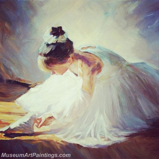 Ballet Oil Painting On Canvas MB08