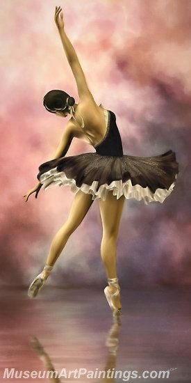 Ballet Oil Painting On Canvas MB09