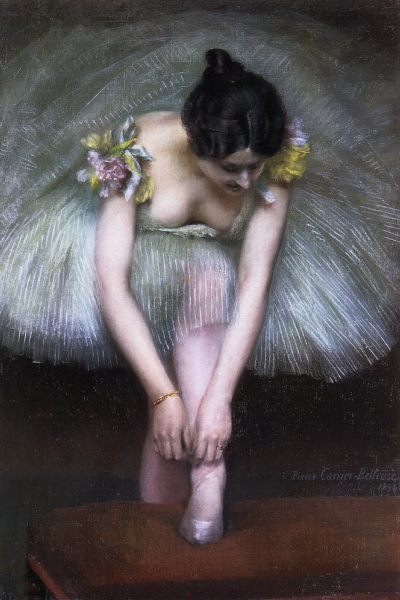 Ballet Paintings Before the Dance