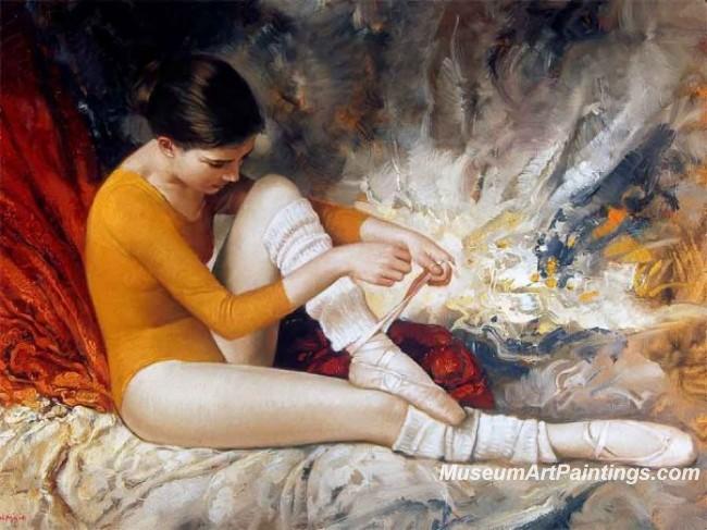 Ballet Paintings M012