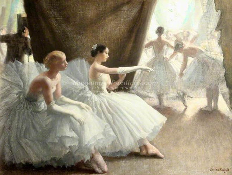 Ballet Paintings by Laura Knight