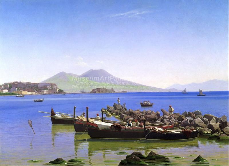 Bay of Naples by Christen Kobke