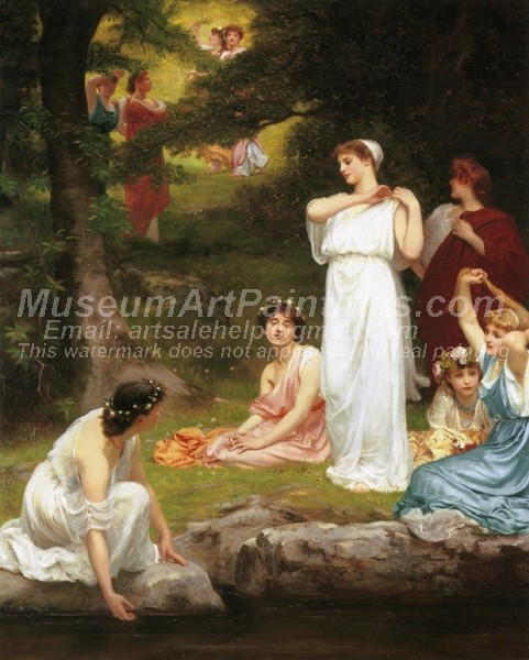 Beautiful Classical Paintings Joyous Summer