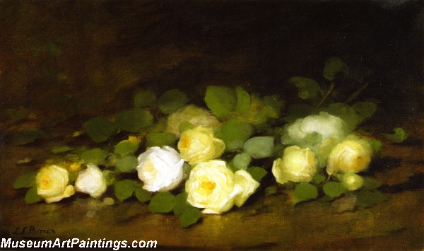 Beautiful Flower Painting Still Life of Yellow Roses