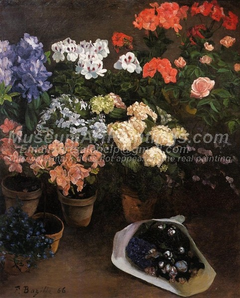 Beautiful Flowers Paintings Study of Flowers