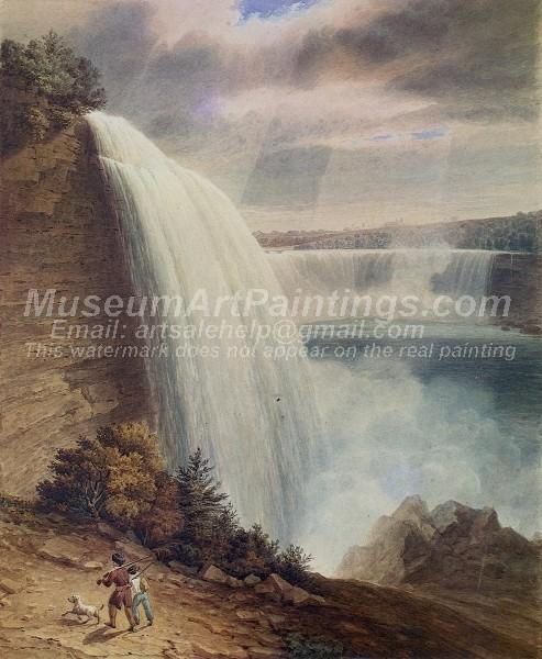Beautiful Landscape Paintings Niagara Falls