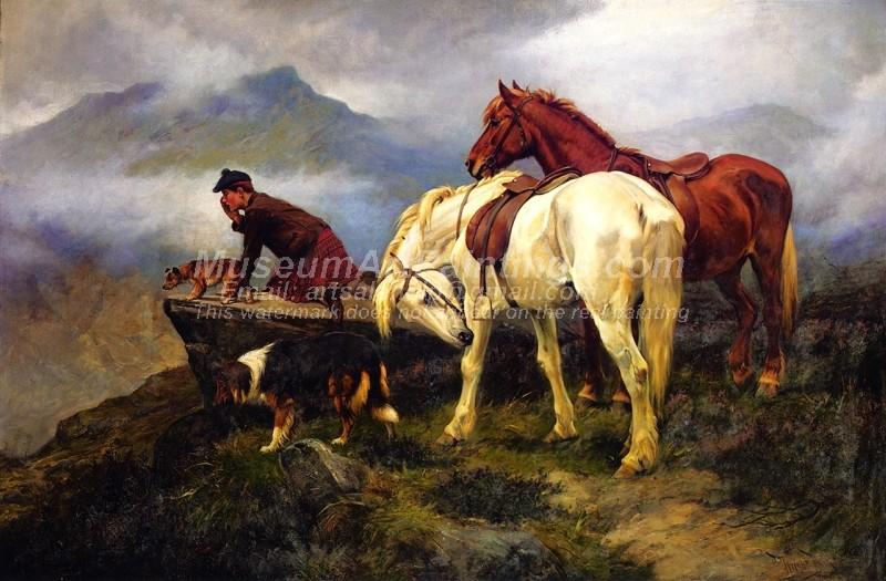 Beautiful Oil Paintings Awaiting the Guns