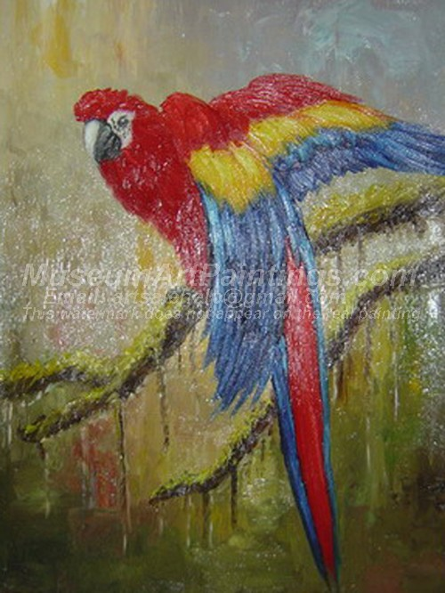 Bird Oil Paintings 001