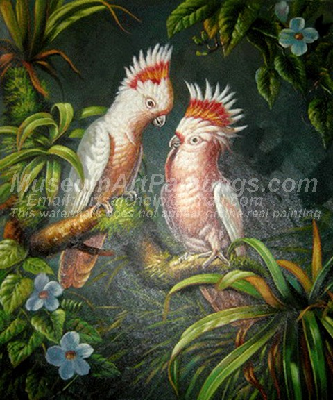 Bird Oil Paintings 004