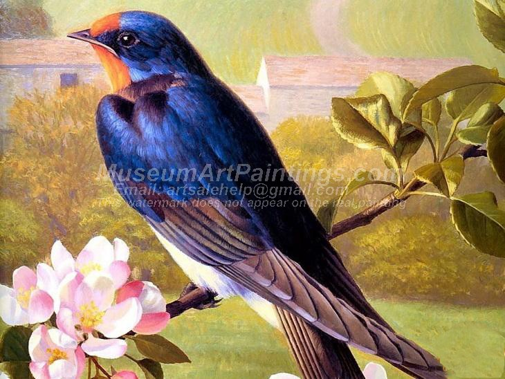 Bird Oil Paintings 009
