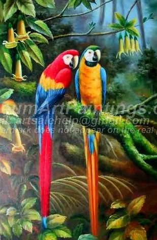 Bird Oil Paintings 012