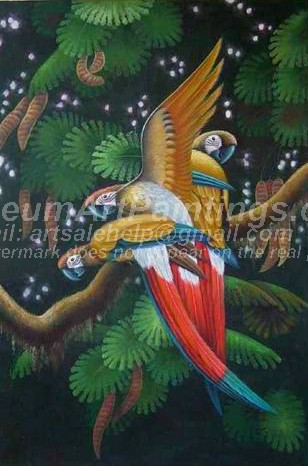 Bird Oil Paintings 013