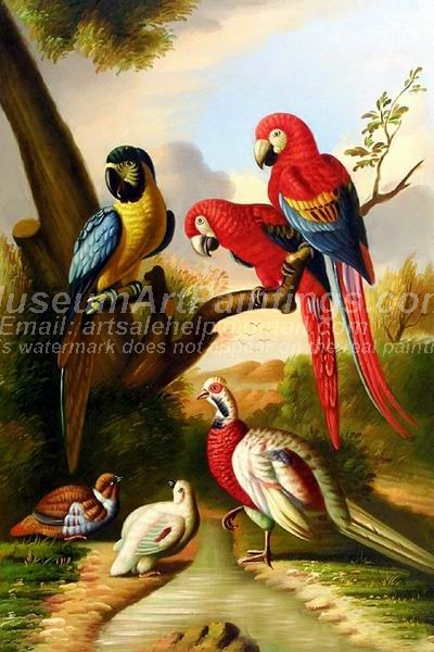 Bird Oil Paintings 016