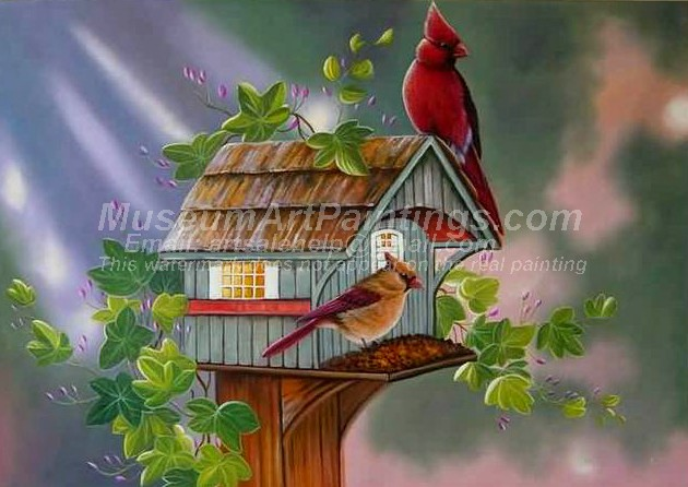 Bird Oil Paintings 017