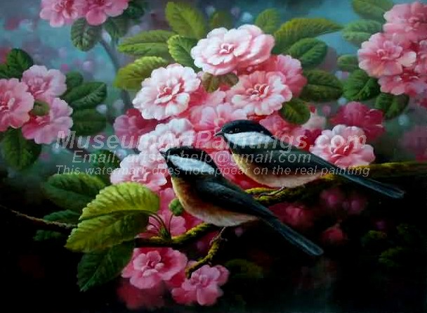 Bird Oil Paintings 018