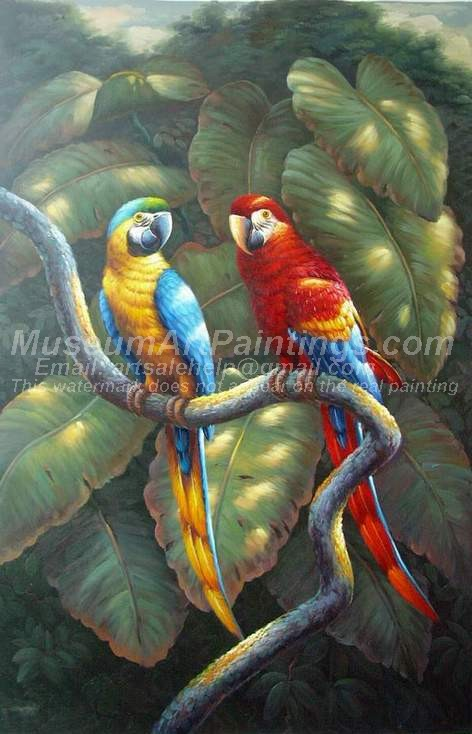 Bird Oil Paintings 021