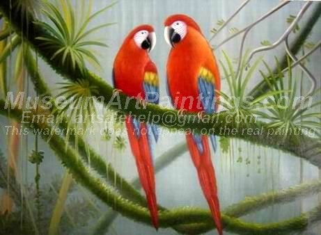 Bird Oil Paintings 022