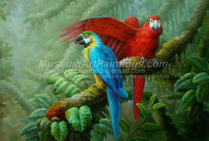 Bird Oil Paintings 023