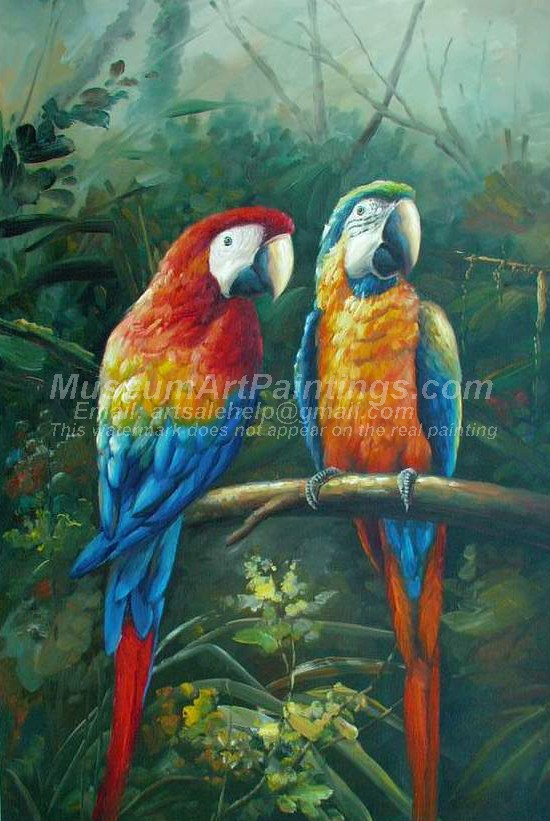 Bird Oil Paintings 024