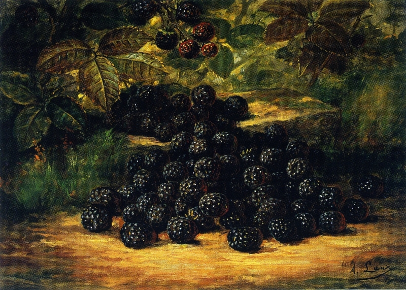 Blackberries by August Laux