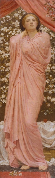 Blossoms by Albert Moore