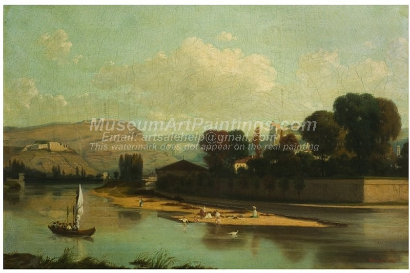 Boat Oil Paintings Besancon