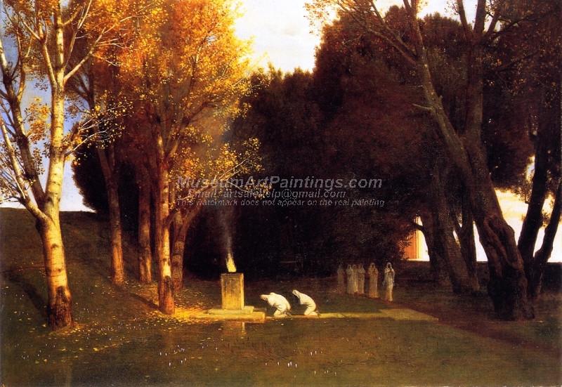 Bocklins Tomb by Ferdinand Keller