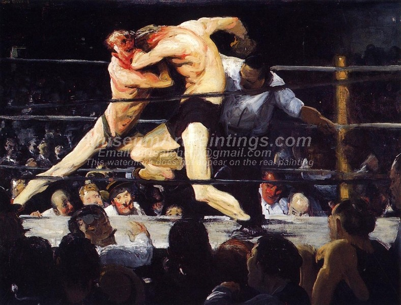 Boxing Oil Paintings M01