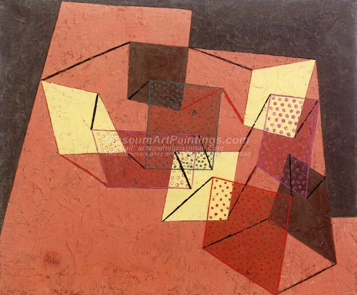 Braced Surfaces by Paul Klee
