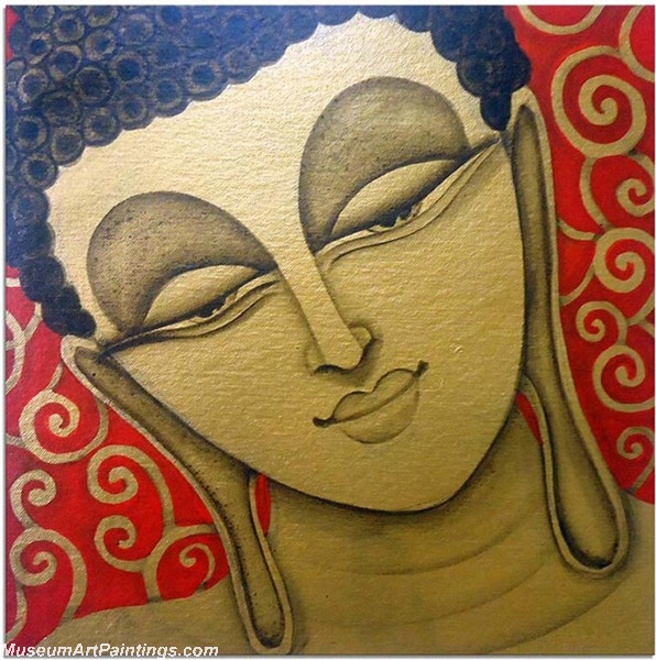 Buddha Canvas Paintings 003