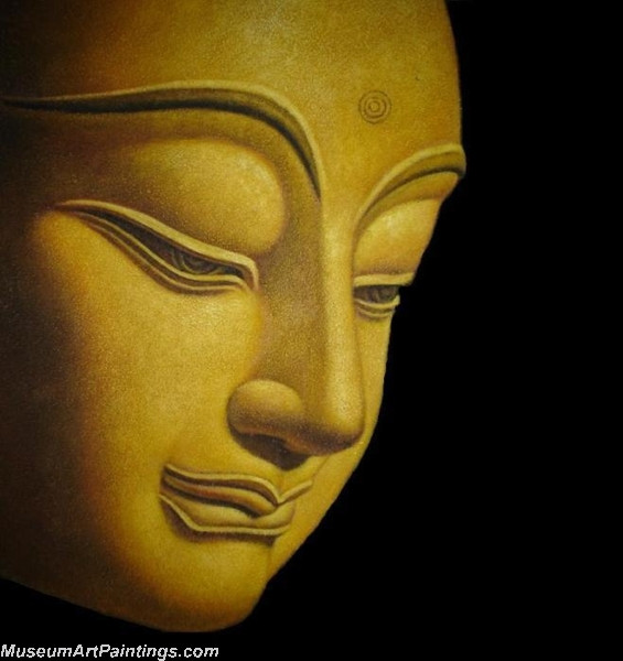 Buddha Face Paintings 001